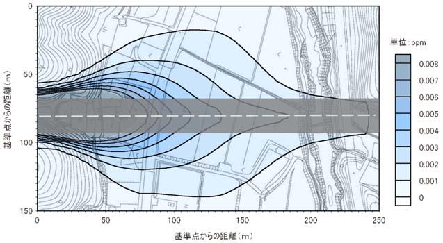 トンネル部大気平面予測結果2
